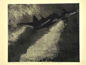 Лот №41 Петр Швецов. Bristol Blenheim MKI. Авторская литография, март 2014. 2001. 49,5х60,7 см